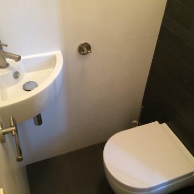 Toilet renovatie Uitgeest